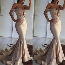 Formal Party Gowns Women Elegant Off Shoulder Evening Dress Mermaid Long Dresses robe de soiree