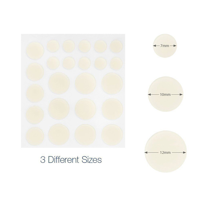 24 pcs Invisi Cosrx Acne Pimple Master Face Spot Scar Care Treatment Stickers Anti-inflammatory Invisible Acne Patch Face Beauty 1