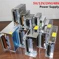 Трансформатор Источника Питания AC100-240V, DC5V 12 В 24 В 48 В 1А, 2А, 3А, 4А 5A 6A 8A 10A 15A 20A 30A 40A 50A 60A Водить Сила адаптер
