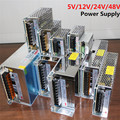 Transformador de Alimentación AC100-240V a DC5V 12 V 24 V 48 V 1A 2A 3A 4A 5A 6A 8A 15A 10A 20A 30A 40A 50A 60A LED de Alimentación Tira adaptador