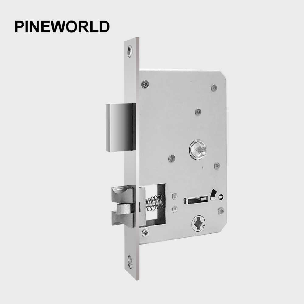 PINE WORLD 5052 6052 Stainless Steel Lock Body Smart Fingerprint Door Lock Accessories Fit For Q202