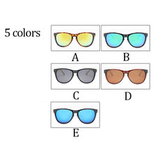 2018 New Bambus Sonnenbrille Holz Holz Mens Womens Retro Vintage Sommer Gläser Multicolor Brille A2(China)