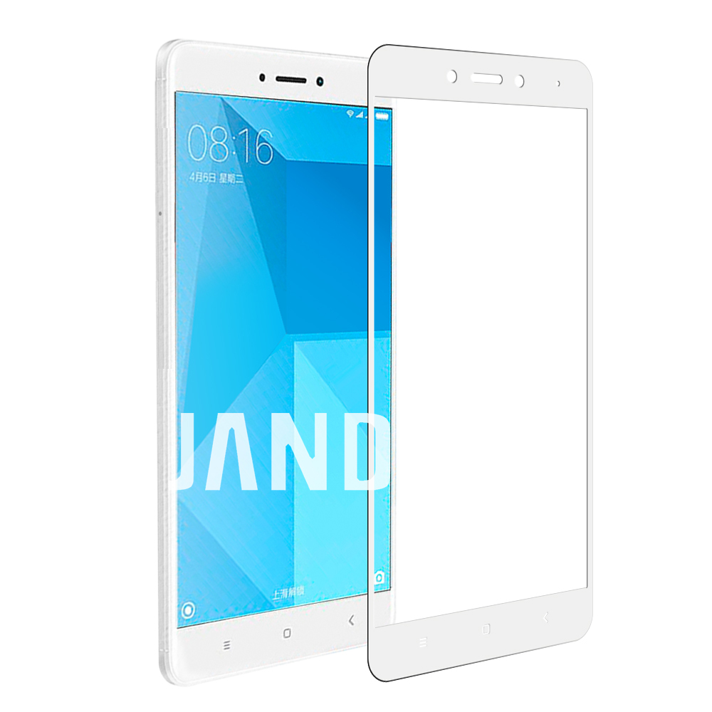 for xiaomi redmi NOTE 4 screen protector Tempered glass full cover case friendly bubble free accessaries
