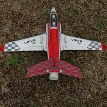 Мини Viper 50 мм rc Самолет jet хобби EPO готов к полету RTF, без батареи