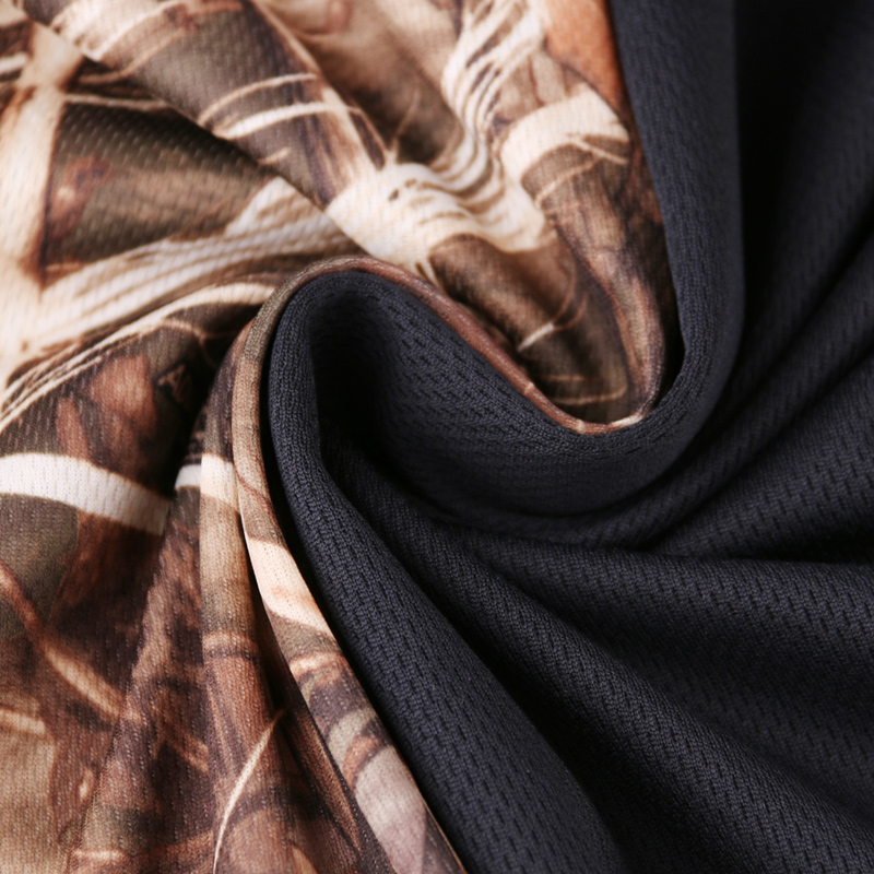 Extérieur jungle camouflage chasse vêtements bionic costume respirant protection solaire vêtements pêche vêtements chasse ghillie costume - 4