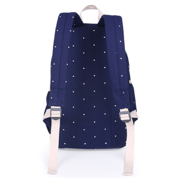 3Pcs/Sets Korean Casual Women Backpacks Canvas Book Bags Preppy Style School Back Bags for Teenage Girls Composite Bag 1
