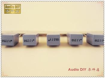 10PCS/50PCS AV R79 Series 0.1uF 250V 250V0.1uF 5% MKP Copper Foot Film Capacitor 100nF 250V100nF 104 250V104