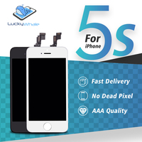 Grade AAA Quality Mobile Phone LCD Display For Apple IPhone 5S Touch Screen Digitizer Assembly Ecran