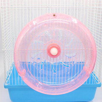 Jaula Hamster Wheel Toy Hedgehog Guinea Pig Running Sports Wheel Fixed 19CM Rat Running Wheel Toys Pet Accessories Supplies Ball 5