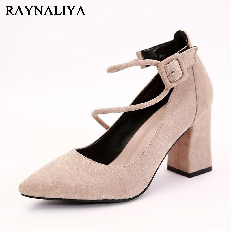Women Pumps Elegant Office Heel Wedding Shoes Woman Casual Spring Comfortable Ladies Shoes Female Footwear CH-A0077 1