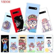 Dr. Slump Arale Popular Phone Case for Samsung Galaxy S10 Plus S10E A50 A70 A30 A10 A20E M40 M30 M20 M10 A20 A80 A40 A60 Cover