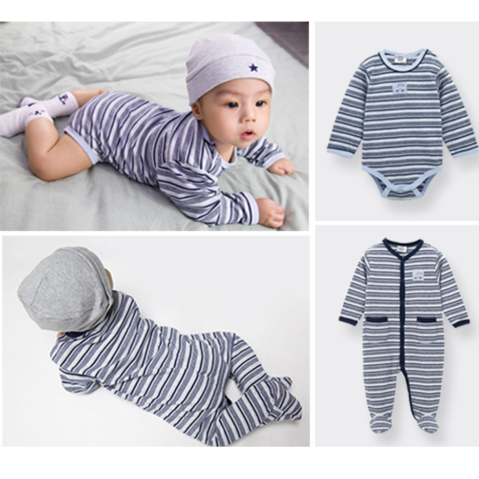 Kavkas Baby Rompers Set Newborn Clothes Baby Clothing Boys Brand Winter Cotton Jumpsuits Long Sleeve Overalls Coveralls Romper