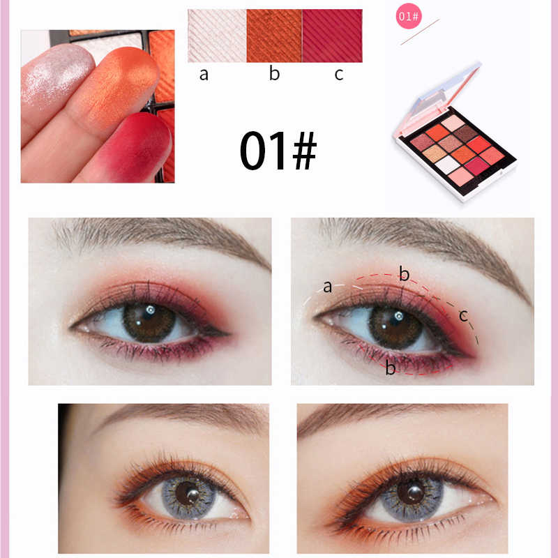 ... HOLD LIVE Color Focus Charm Show Red Eye Shadow Palette Nude Shadows Cosmetics Korean Makeup 12 ...