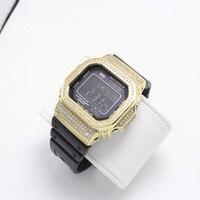 Diamond Metal Watch bezel Case For DW5600/5610 GW 5000 5035 Stainless Steel Watchband Frame for Bracelet Watch Accessory Tool