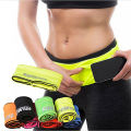 New Rushed Multifunction Waist Belt Professional Soft Lycra Waist Bag Elastic Belt Pouch Money Pocket Pack For Phone Keys Ba005