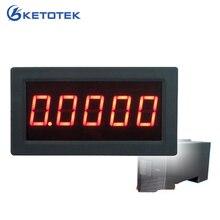 """Высокая точность 0,5"""" 5 цифр постоянного тока Амперметр Цифровой Амперметр Панель метр светодиодный тестер тока манометр монитор"""