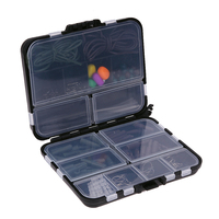 Fishing Tackle Box With Full Fishing Tools Set New Carp Weights Safety Clips Hooks Swivels Hair