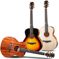 Китайская Фабрика высокого качества, Dadarwood 36 дюймов твердый верх, сделанная вручную гитара, начинающий народный шар путешествия маленькая г