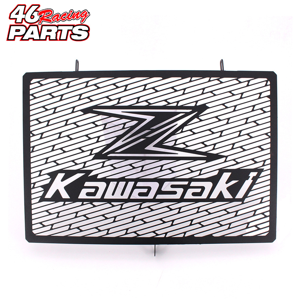 Black Motorcycle Accessories Radiator Guard Protector Grille Grill Cover For Kawasaki Z750 Z800 Z1000 Z1000SX Free shipping motorcycle parts radiator grille protective cover grill guard protector for 2007 2008 2009 2010 2011 2012 kawasaki z750