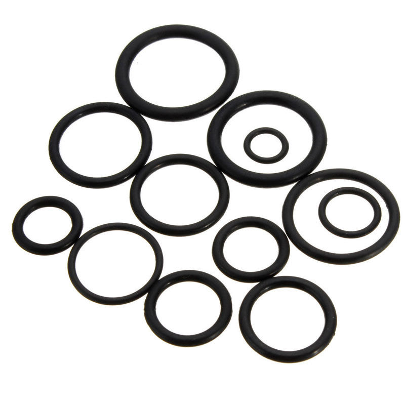 50x Rubber O Ring Gaskets Assorted Sizes Set Kit For Plumbing Tap