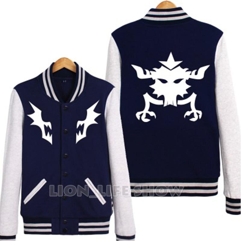 Kill la Kill Matoi Ryuko Senketsu Hoodie Coat Baseball Uniform Cosplay Jacket