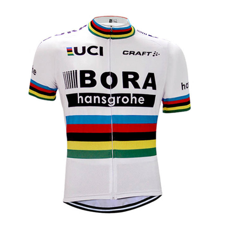 2018 Men Summer BORA Team Short Sleeve Ropa Ciclismo Maillot Bike Clothes Cycling Jersey Quick Dry Breathable Bycicle Tops new team pro men cycling jersey ciclismo ropa bike jerseys set bycicle clothing short sleeve summer ciclismo maillot