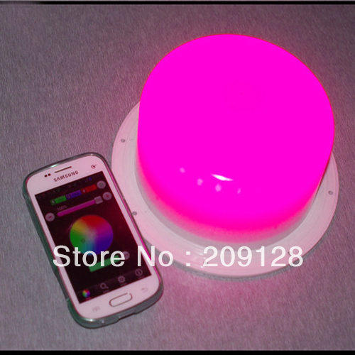 3 W 10.2 cm nouveau Iphone, Ipad, Android téléphone mobile 2.3 Version ou IOS système wifi contrôleur pour RGB lampe à LED VC-L117