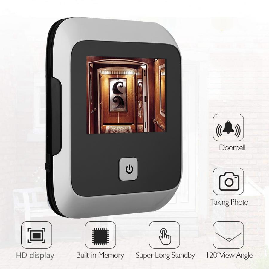 3.0 Inches Safety Door Viewer Doorbell 120 Degree  Intelligent Electronic HD Video Door Viewer Outdoor Door Bell High Quality
