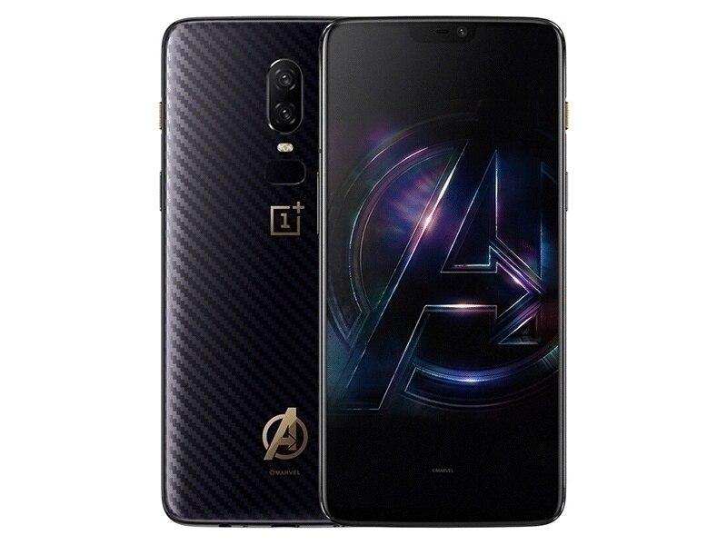 """מיכל אסלה חרסה ניו נעילת מקורי גרסה OnePlus 6 Mobile Phone 4G LTE 6.28"""" 8GB RAM 128GB Dual SIM כרטיס ה- Snapdragon 845 אנדרואיד Smartphone (4)"""