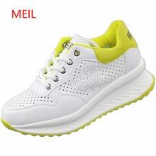 2018 Spring Summer New Designer Wedges White Shoes Female Platform Sneakers Women Tenis Feminino Casual Female Shoes Woman цена в Москве и Питере