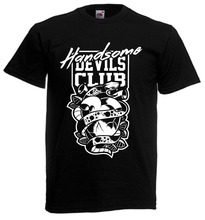 Devils Club T shirt Hillbilly Redneck Wortels Muziek Traditionele Tattoo Punk Aca B Zomer 2019 Katoen Gedrukt Custom Ontwerp Shirts