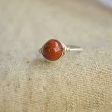 Goldstone 925 Sterling Silver Winding Rings For Women Summer Style Fine Jewelry Vintage Retro Love Cute Diy Accessories Boho