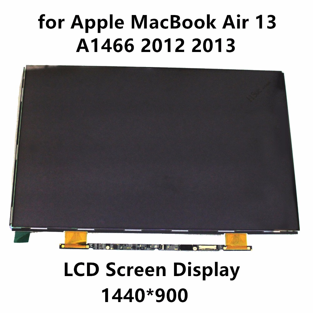 New LCD Screen Glass Panel Display LSN133BT01-A02 LP133WP1-TJA1 for Apple MacBook Air 13 A1466 2012 2013 MD231 MD232 MD760 MD761 original brand new for macbook a1466 a1369 lcd screen display panel 13 3 glass