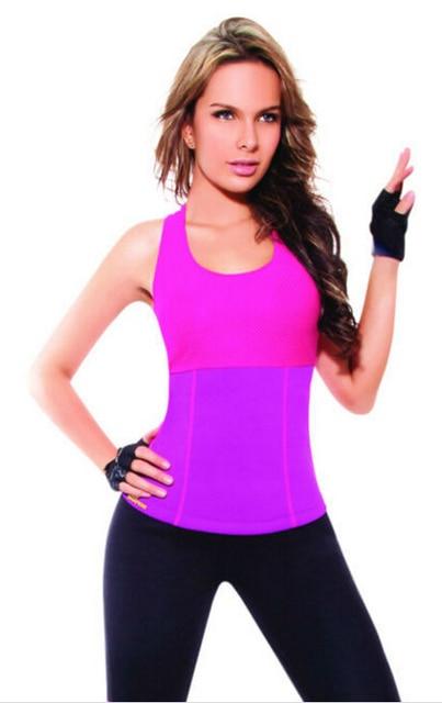 b3d603c77f Hot Shapers Stretch Neoprene Slimming Vest Slim Underwear Body Shaper  Control Vest Bra Waist Corsets Body Shirt Women
