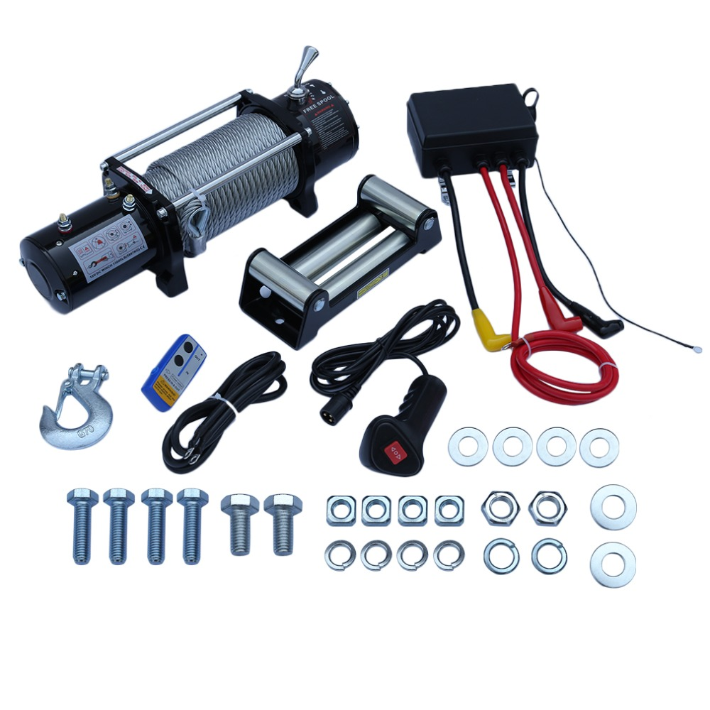 (Ship From DE)Automatic Electric Crawler Off-Road Winch Control System 13000LB Professional For Vehicle Cars Auto Black avent philips для кормления 330мл classik