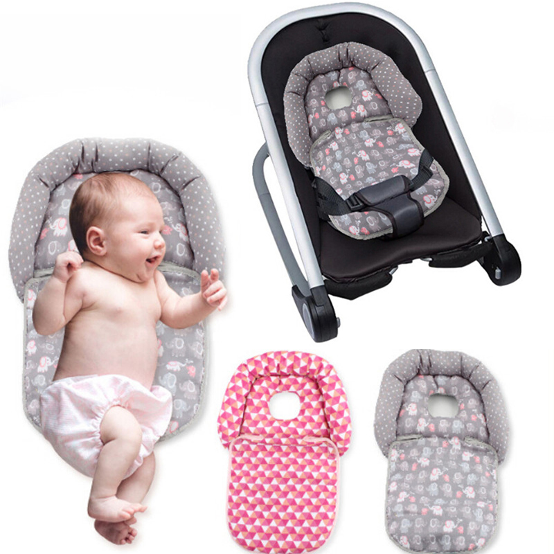 Newborn Stereotype Pillow Baby Carriage Folding Pillow Baby Cart And Rockers Neck Head Cushion Protection Baby Stroller Pillow