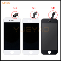 YUEYAO AAA Screen For Apple IPhone 5 5S 5C LCD Display Touch Screen Assembly With Digitizer