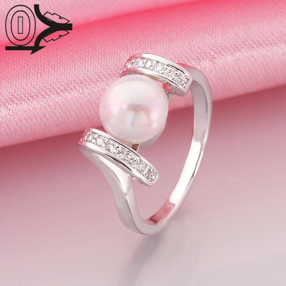 R018 8 Wholesale Latest Imitation Pearl Ring Designs For Women ...
