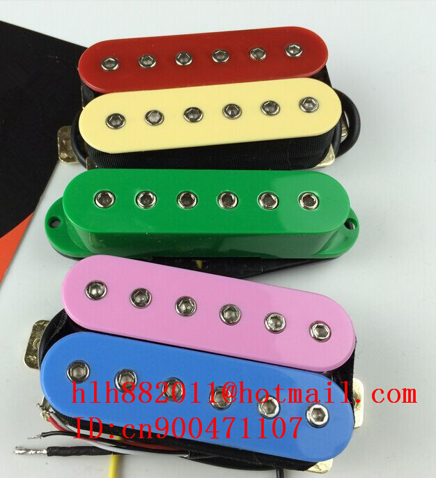 free shipping new electric guitar color H-S-H pickup HY-8312 free shipping new electric guitar double coil pickup chb 5 can cut single art 46
