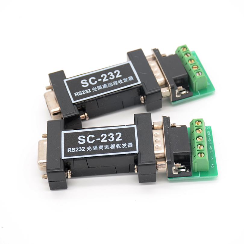 Four-wire Standard RS232 Optically Isolated Long-line Transceiver (serial Pump) Transmit TXD/RXD Signal Full-duplex