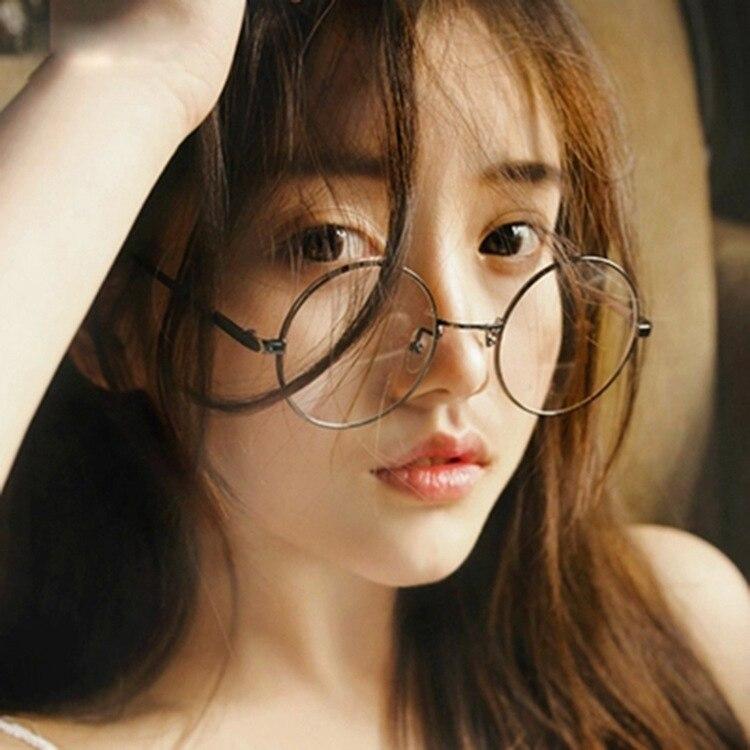 20e63f093a63 Metal round frame for men women brand designer vintage eyeglasses frames  optical retro eye glasses frame Oculos De Grau