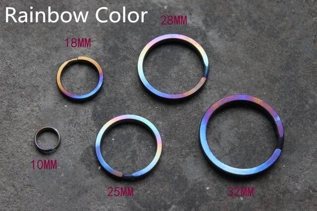 Multicolor титан қорытпасы EDC Ultra жеңіл - Кемпинг және жаяу жүру - фото 6