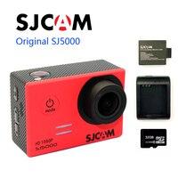 Бесплатная доставка! 32 ГБ оригинальный SJCAM sj5000 Новатэк 96655 Full HD Действие Спорт Камера + дополнительная 1 шт. Батарея + Батарея Зарядное устройс