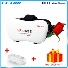 Newest Virtual Reality Headset 3D Glasses Google Cardboard VR BOX DVD Movies For Iphone Samsung Phone Glasses GD02-5