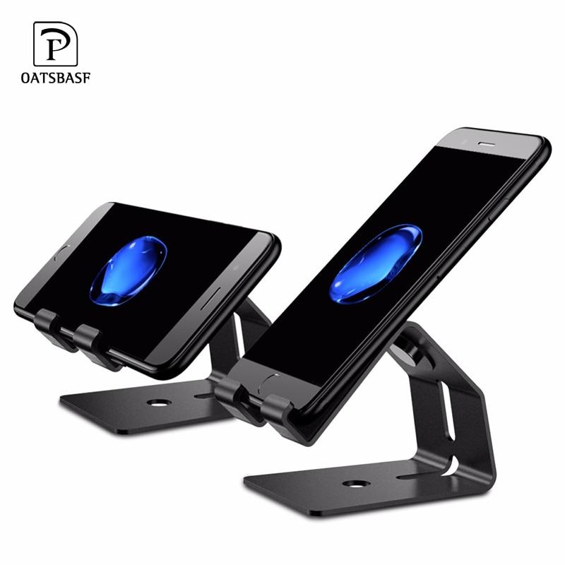 OATSBASF 2 in 1 Aluminium Alloy Universal Mobile font b Phone b font Stand Desk font