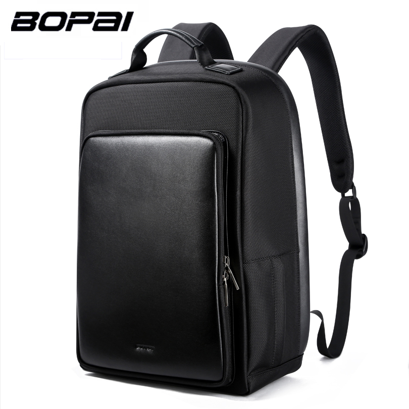 BOPAI Brand Backpack USB Charging Backpack Laptop Shoulders Anti-theft USB Backpack 16 inch Laptop Backpack Men Waterproof bopai brand backpack usb charging backpack laptop shoulders anti theft usb backpack 15 inch laptop backpack men waterproof