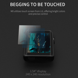 Image 3 - Newest Shanling M0 limited edition Hi Res Bluetooth Touch Screen Portable Music mp3 player, Two choices: Black gold or Red gold