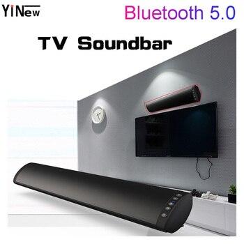 20 Вт ТВ Саундбар Bluetooth беспроводной динамик 10 Вт FM радио настенное крепление домашний кинотеатр система объемного звучания коробка стерео Бас Сабвуфер