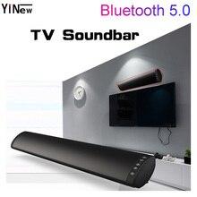 20W TV Soundbar Bluetooth Wireless Speaker 10W FM Radio Wall mount Home Theater System Surround Sound Box Stereo bass Subwoofer low price pa sound system 5 wall speaker mounts 10w