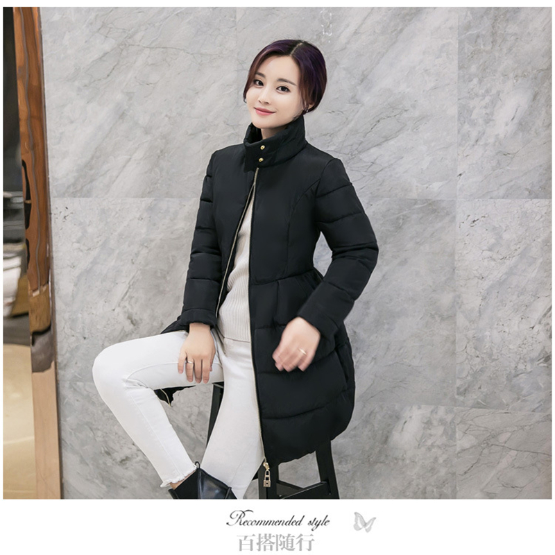 2017 New Korean Version Of The Long Section Collar Coat Female Waist Was Thin Trade Down Jacket Winter Coat Tide Behalf CC278 2017 new korean version of the long section collar coat female waist was thin trade down jacket winter coat tide behalf cc278